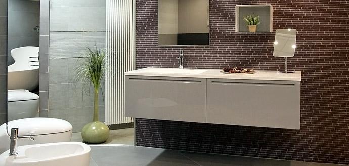 Arredobagno milano vendita forniture mobili bagno design - Mobili sospesi per bagno ...