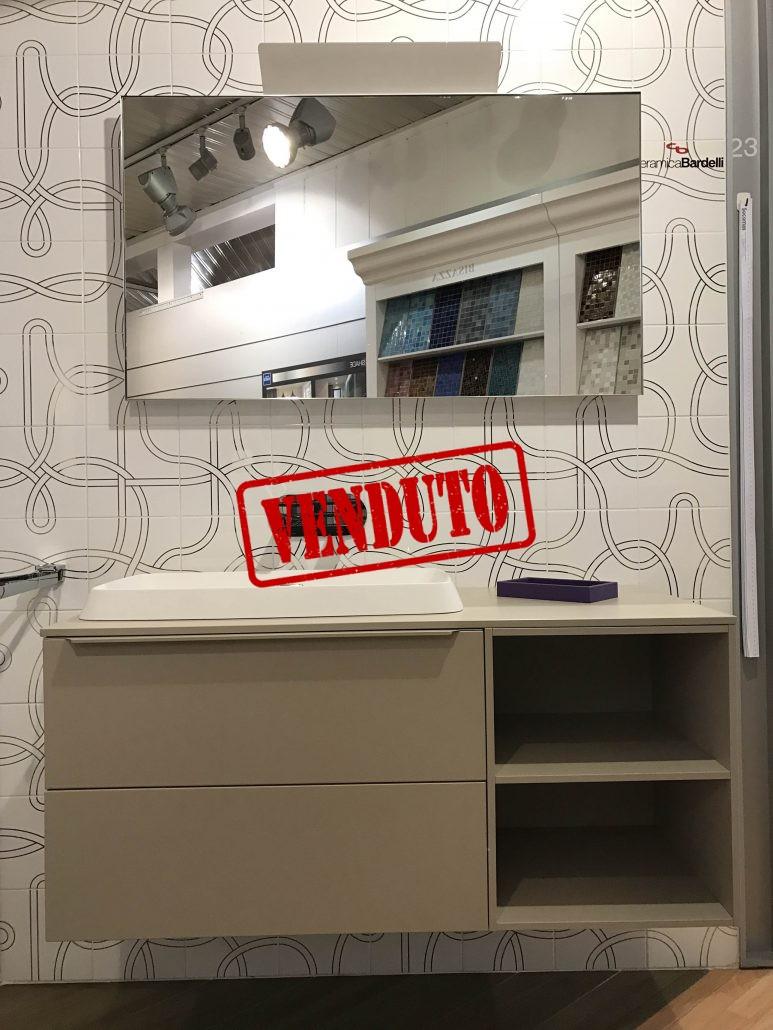 Mobile inda serie progetto outlet socomas for Esposizione bagni milano